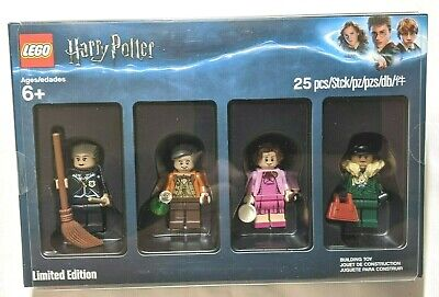 New Harry Potter Bricktober 2018 Lego Minifigure Set Of 4 5005254 New Sealed Ebay