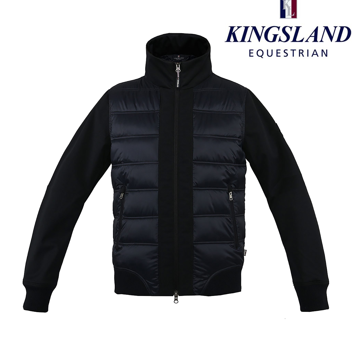 Kingsland Amsterdam Jacket dark navy Blau Größe XS UK 6 ladies padded coat