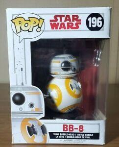 BB-8 Pop Funko Star Wars The Last Jedi Vinyl Figure #196