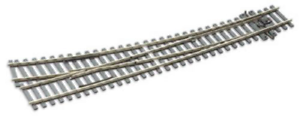 Peco-SL-E186-Curved-Double-Radius-Right-Hand-Point-Electrofrog-code-75-OO-Gauge