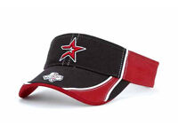 Houston Astros Oxbow MLB Visor Cap Hat Baseball Black Brick Red Texas Star OSFA