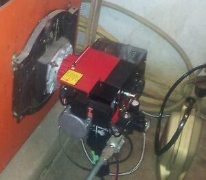 Quemador de aceite usado para calderas motor cocina - Aceite usado de cocina ...