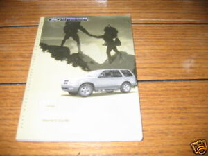 ford explorer sport owners manual owners ebay