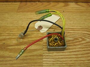 SEA DOO GTS XP HX 587 OEM Voltage Regulator #27B326J