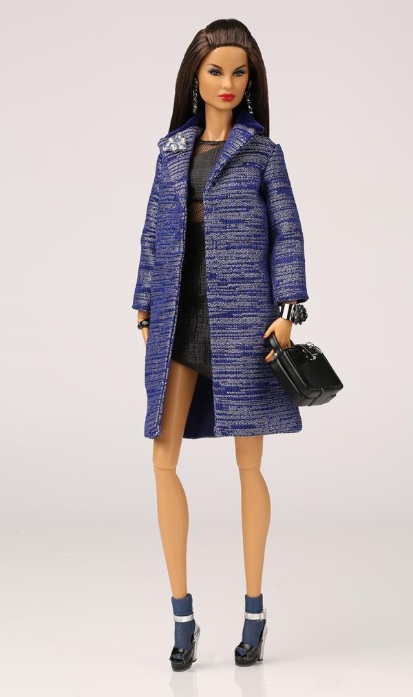 12  ropa de muñecas 'Zine reina de la industria muñeca no está incluido
