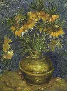 Vincent Van Gogh [Crown Imperial Fritillaries in a Copper Vase] Puzzle 1000 pcs