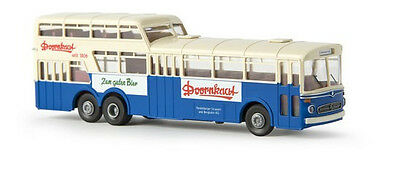 Brekina 61013 Mercedes Benz O317 Anderthalbdecker Bus HSB H0 1:87 NEU /& OVP