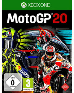 Moto-GP-20-XBox-One-Racing-NEU-amp-OVP-Blitzversand