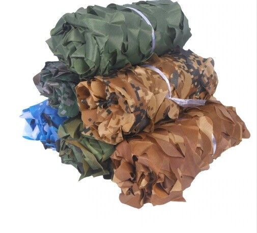 Camouflage Camo  Screen Hide Leaf Net Hunting Ghillie Army Military Blind 3D Tree  sale online discount