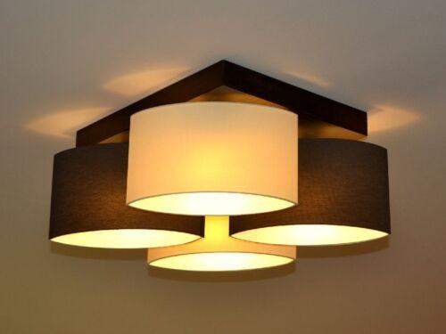 """Deckenlampe Deckenleuchte Lampe Leuchte 4 flammig Top Design /""""Rialto/"""" D4 NEU"""