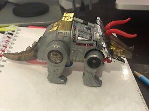 Vintage Transformers Dinobots 1984 G1 Slag Action Figure Triceratops