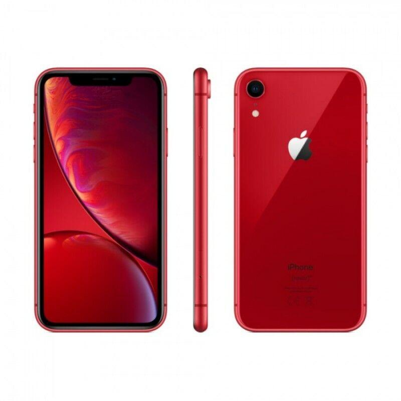 APPLE IPHONE XR 64GB ROSSO RICONDIZIONATO GRADO A + GARANZIA 12 MESI + ACCESSORI