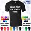 miniatura 1 - Da Uomo T-Shirt Personalizzata Stampa Design Personalizzato Nome Testo Maker stampare le proprie