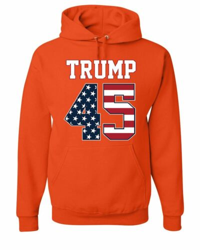 Stripes President Political Sweatshirt And 45 The Stars Hoodie Trump 45th Oqa8TpZ