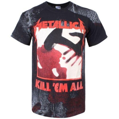 Metallica In-Grained Kill /'Em All Official Men/'s Black T-Shirt