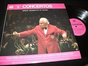 ARTHUR-FIEDLER-lt-gt-CONCERTOS-TIME-LIFE-N0-3-lt-gt-LP-Vinyl-USA-Pressing-lt-gt-STLS-6003