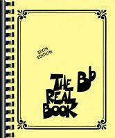 The Real Book (b Flat, Sixth Edition) By , (plastic Comb), Hal Leonard , New, Fr on sale