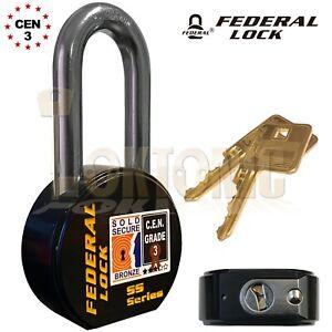 Federal-902-Sold-Secure-CEN-Grade-3-Heavy-Duty-Solid-Steel-Long-Shackle-Padlock