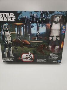 Star-Wars-SPEEDER-BIKE-MOTO-SPEEDER-BIKER-SCOUT-Action-Figure-2-Pack-Disney-MIB