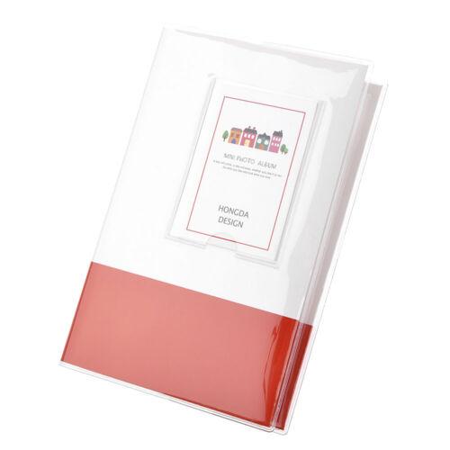 """3/"""" 84 Taschen Mini Fotoalbum Fotobuch Fotohüllen Für Fujifilm Instax Polaroid"""