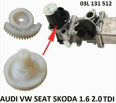 VW AUDI SEAT SKODA 1.6 2.0 TDI AGR KÜHLER EGR ABGASRÜCKFÜHRUNG REPARATURSATZ