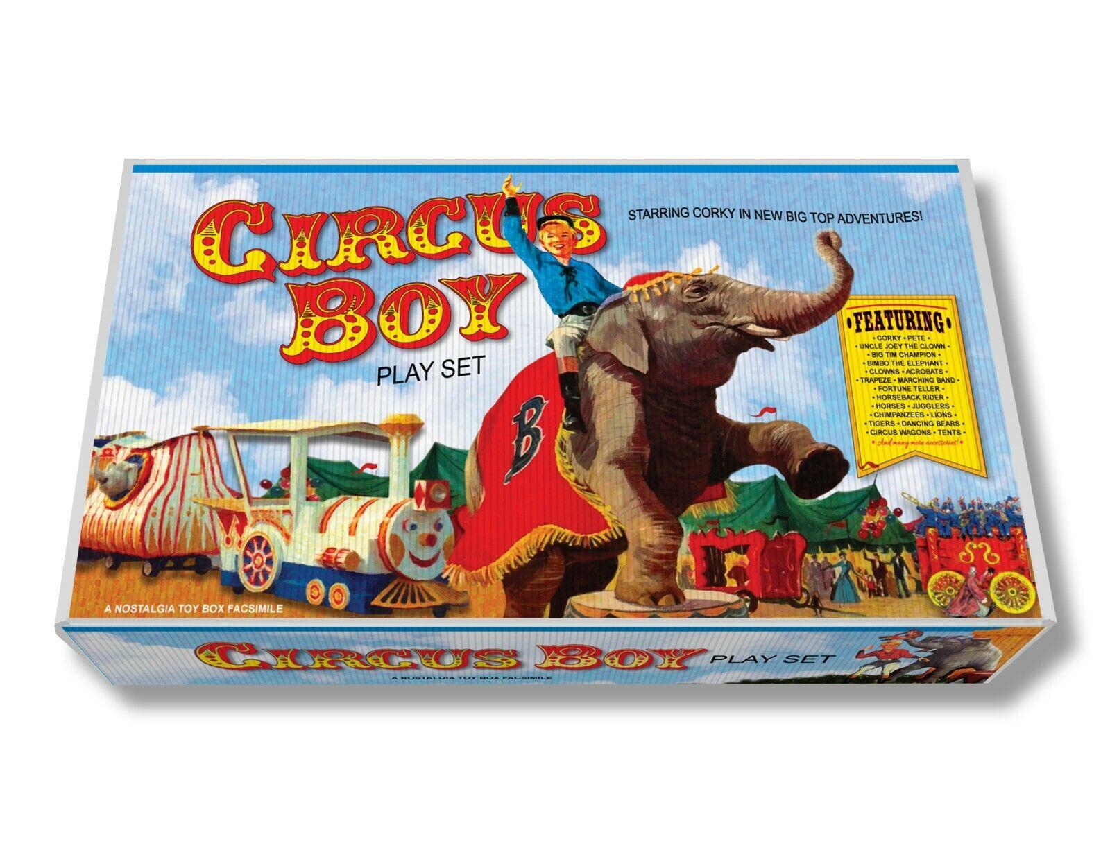 Marx zirkus junge spielen set box