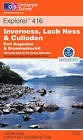 Inverness, Loch Ness and Culloden by Ordnance Survey (Sheet map, folded, 2002)
