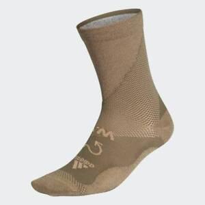adidas Performance x WOOD WOOD Run Socks Earth Green RRP £30 Brand New FL5908