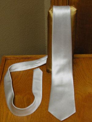 Lilac Neck Tie Mens Self Tie Satin Steampunk Retro Tuxedo Wedding Suit Freesia