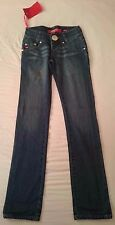 "BNWT MISS SIXTY SNUFFLES DARK BLUE DENIM JEANS: UK SIZE 10/12 WAIST 29"" LEG 37"""