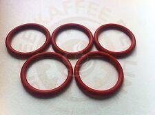 5 x O-Ring für den Kolben der Saeco Brühgruppe 32x4