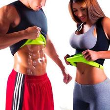 Men's Neoprene Slimming Vest Cami Hot Gym Womens Body Sauna Sweat Thermal Shaper