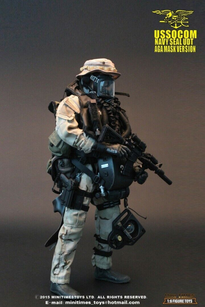 Mini Times Toys U.S.NAVY SEAL UDT MT-M002 1 6 Scale Soldier Figure Toys Gift