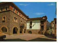 Postal Torla (Huesca) Casa consistorial y plaza.