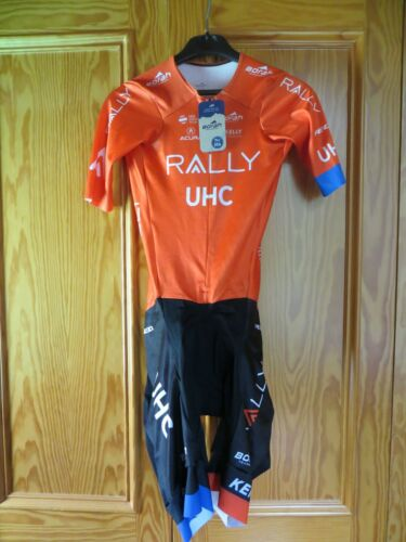M RALLY UHC Cycling team short sleeve suit