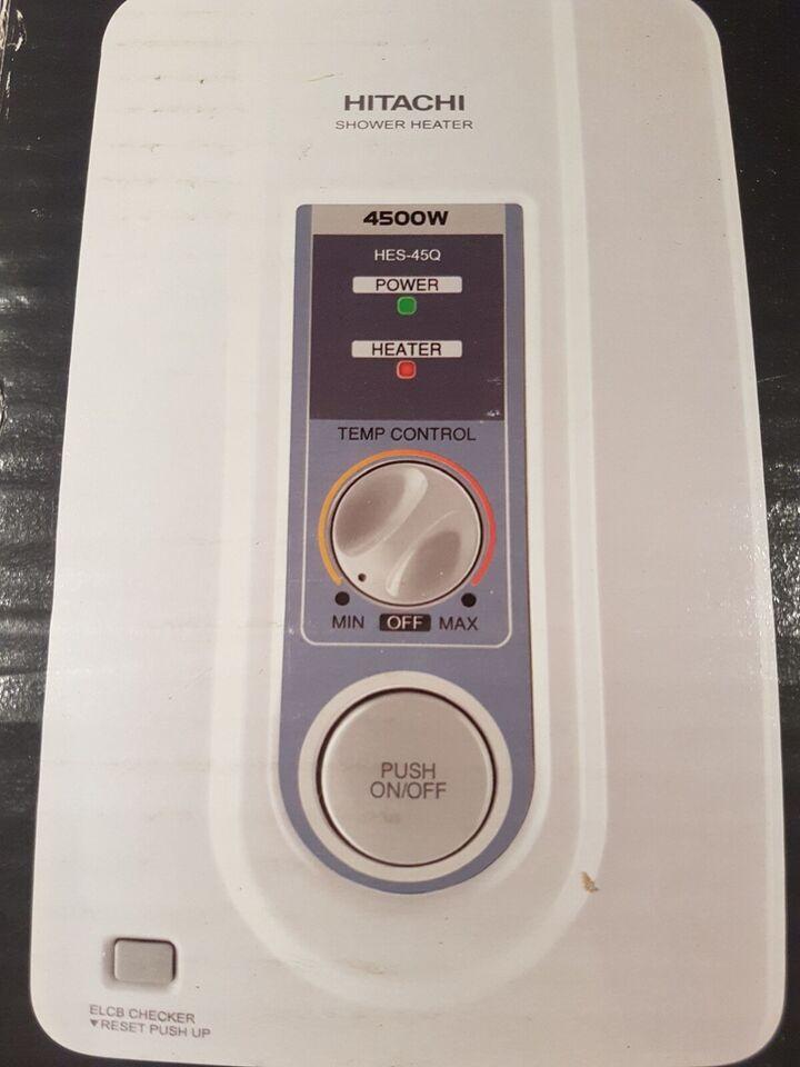 Shower Heater, Hitachi