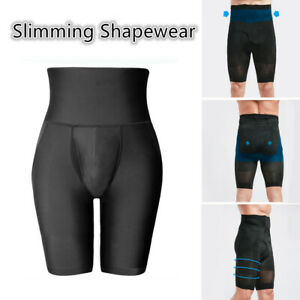 Men-039-s-Compression-High-Waist-Slim-Shorts-Tummy-Contour-Shaper-Girdle-Panties-Hot