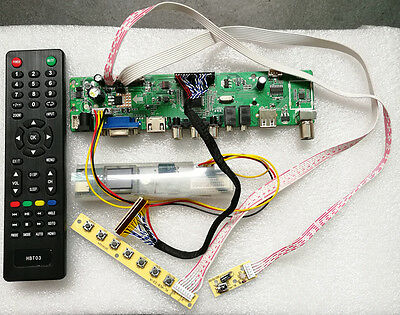 New LCD Controller Driver Board for LP156Wh3 TLSA TV+HDMI+VGA+CVBS+USB T.VST56