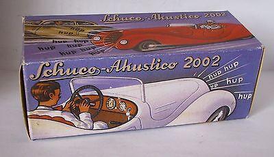 Autos & Lkw Repro Box Schuco Akustico 2002 Hochwertige Materialien