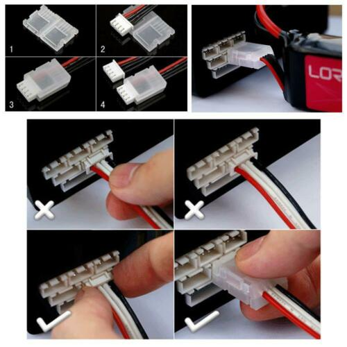 5pcs 2S 3S 4S 6S RC Lipo battery balancing plug protector AB clip buckle JST-XH