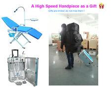 GU-P206 New Portable Dental Unit + New Portable Dental Chair + Backpack