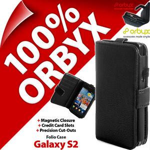 Orbyx-Etui-Folio-pour-Samsung-I9100-Galaxy-S2-Porte-Feuille-Housse-Rabattable
