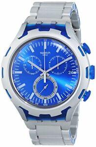 Swatch Endless Energy Quartz Movement Blue Dial Men's Watch YYS4001AG