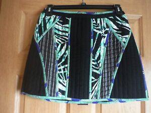 Women-039-s-Designer-BCBG-Maxazria-Andrick-Mini-Skirt-Size-8-Black-NWT