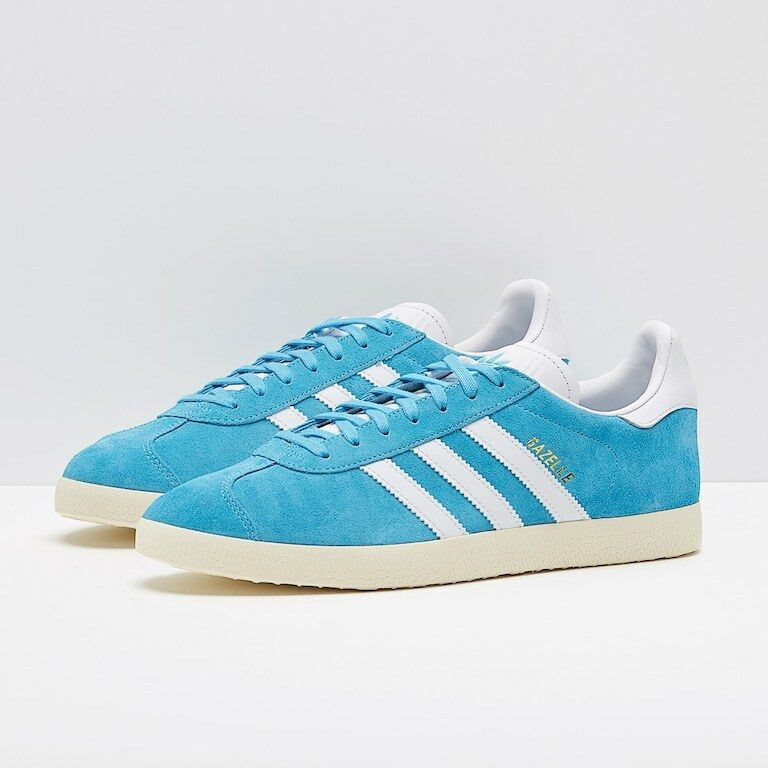 Adidas Originals Gazelle Baskets UK 10 Brand New Boxed UE 44 2/3