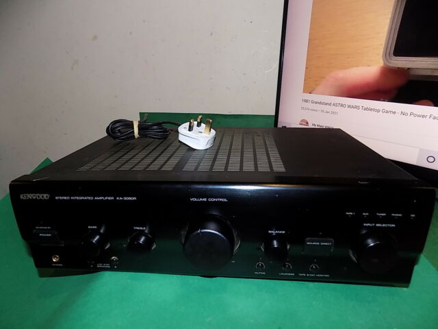 Kenwood ka-3050r Vintage Hi Fi MM & MC Phono Stage Stereo Vollverstärker
