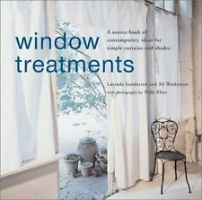Window Treatments: A Source Book of Contemporary Ideas for Simple-ExLibrary