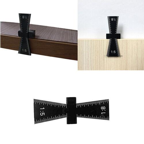 perfekt für Hobby Holzarbeit,1:5 1:8 Schwalbenschwanz Hals Schablone Marker