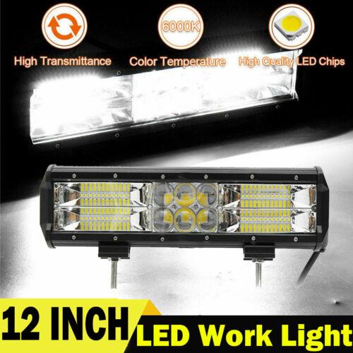 LED Work Light Bar Spot Flood Offroad Roof Lights Driving Lamp Truck Car 4WD SUV
