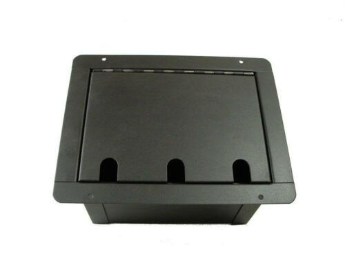ProCraft Pro Audio Recessed Stage Pocket Floor Box 12 XLR//Channel Any Config.